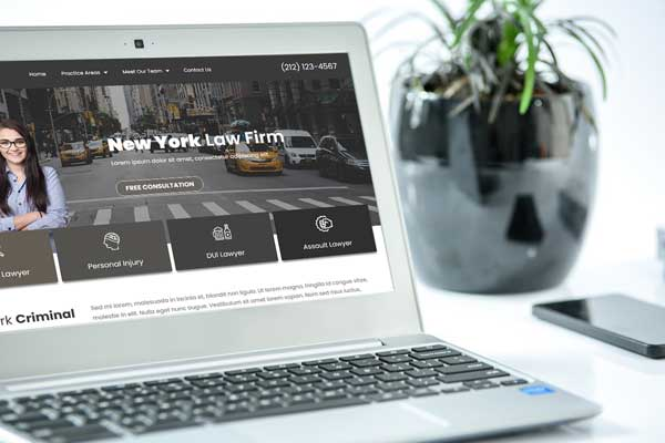 Predesigned Website Templates for Lawyers