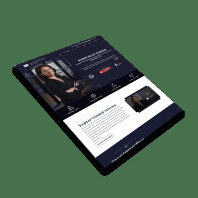 Website Design Virginia Attorney