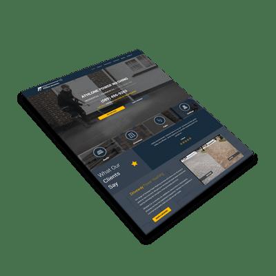 Athlone Power washing Website Design