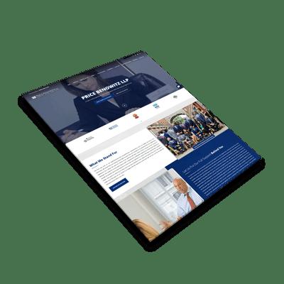 Washington DC Lawyer Website Design